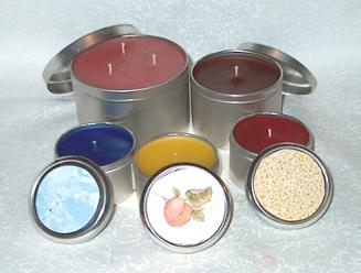 Slip Tin Candles